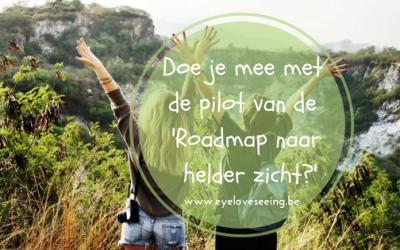 Doe je mee met de pilot van 'Roadmap naar helder zicht'?