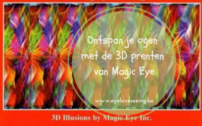 Onspan je ogen met de 3D prenten van Magic Eye