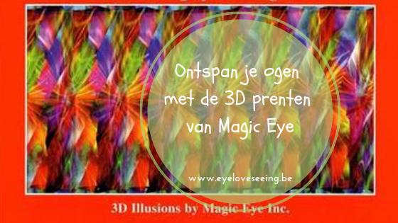 3D prenten van Magic Eye